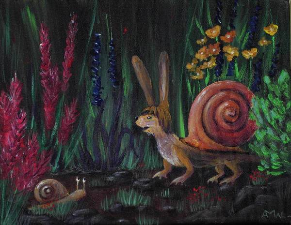 Painting - Snellius Fluffius by Anastasiya Malakhova