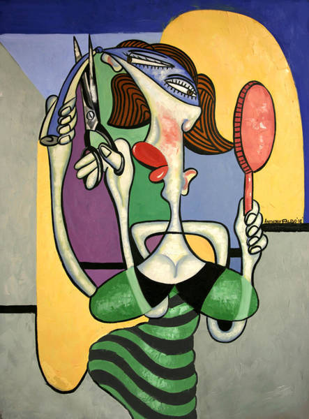 Plastic Surgery Wall Art - Painting - Snip And Tuck by Anthony Falbo