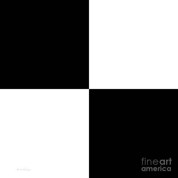 Digital Art - Snow And Black Ice Square by Andee Design