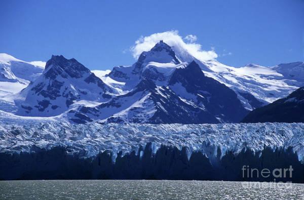 Photograph - Snow And Ice Perito Moreno Glacier by James Brunker
