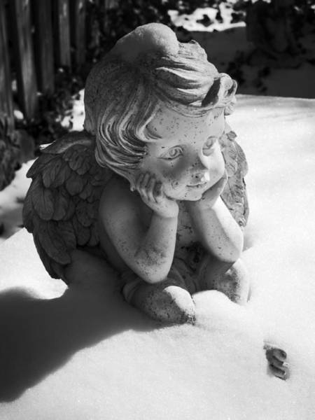 Photograph - Snow Angel by MM Anderson
