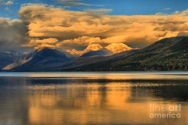 Photograph - Snow Cap Reflections by Adam Jewell