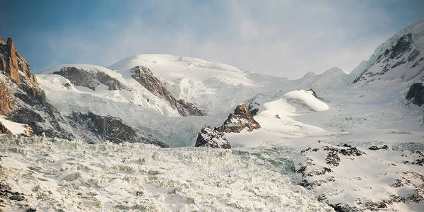 Chamonix Wall Art - Photograph - Snow Covered Mountains by Keith Levit / Design Pics