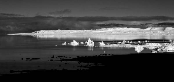Photograph - Snow Covered Tufa by Cat Connor