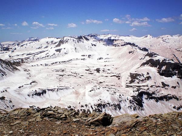 San Juan Mountains Photograph - Snow Darkening Effect by S. Mckenzie Skiles, Snow Optics Laboratory, Nasa/jpl