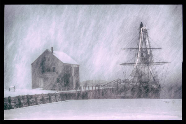 Photograph - snow envelops Friendship by Jeff Folger