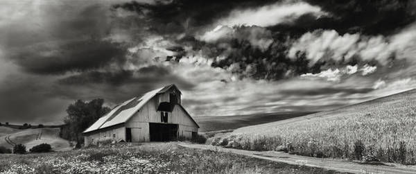 Wall Art - Photograph - a used Barn by Latah Trail Foundation