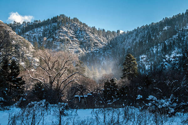Photograph - Snow Flurry In West Fork by Tam Ryan