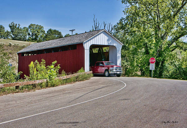 Rockdale County Photograph - Snow Hill Covered Bridge by Phyllis Taylor