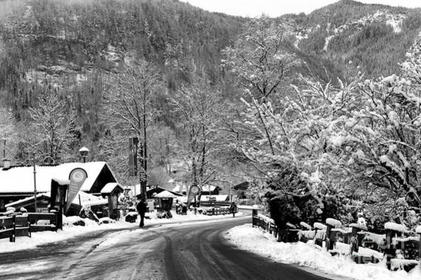Photograph - Snow In Bavaria  by John Rizzuto