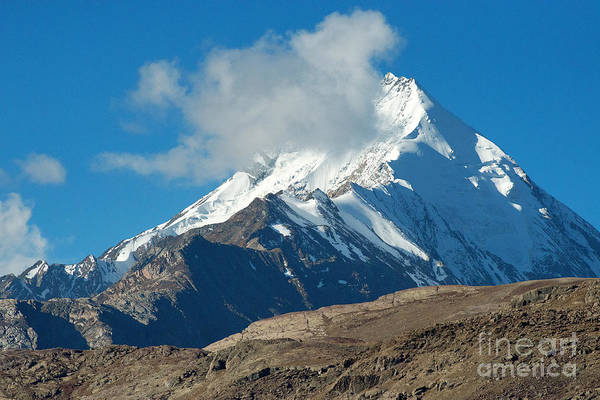 Photograph - Snow Mountain by Yew Kwang
