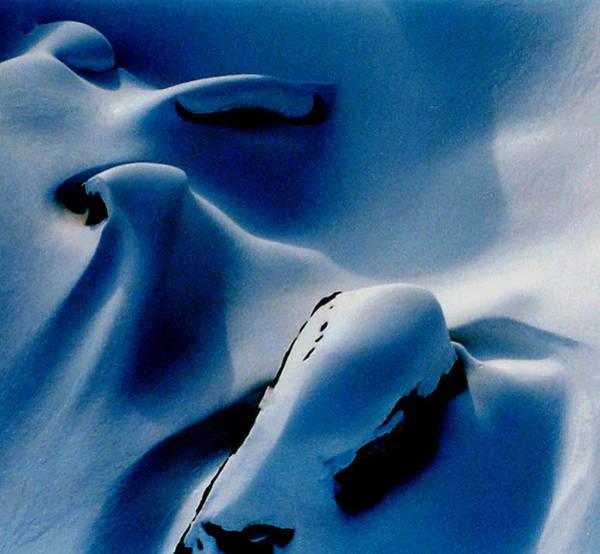 Photograph - Snow Naturel Formation Ischgl Austria  by Colette V Hera  Guggenheim