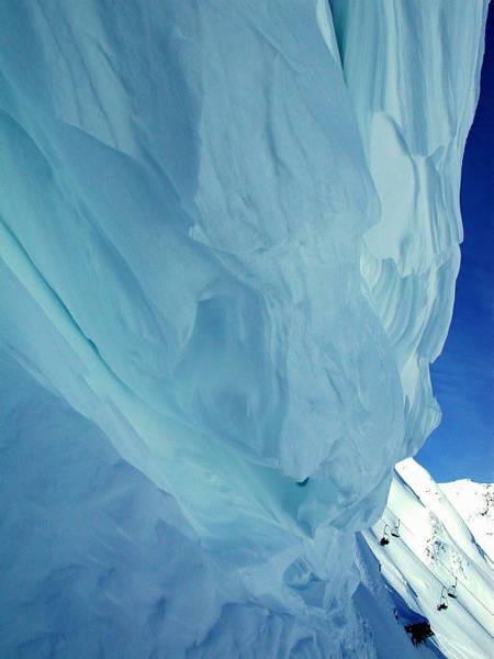 Photograph - Snow Naturel Formation Kappl  Austria by Colette V Hera  Guggenheim