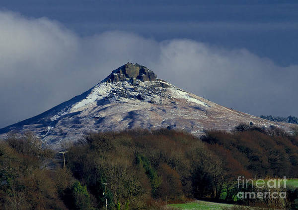 Photograph - Snow On Roseberry Topping by Martyn Arnold