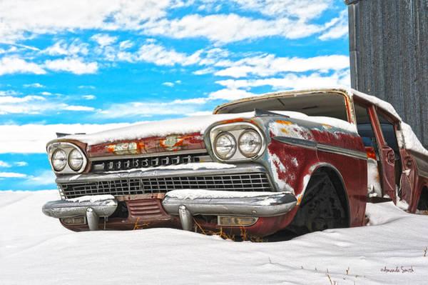 Photograph - Snow On The Ambassador by Amanda Smith
