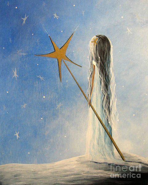 Wall Art - Painting - Snow Queen By Shawna Erback by Erback Art