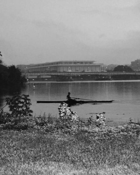 Olympic Club Photograph - Potomac Snow Row by Christopher Kerby