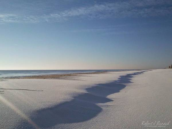 Photograph - Snow Shadows by Robert Banach