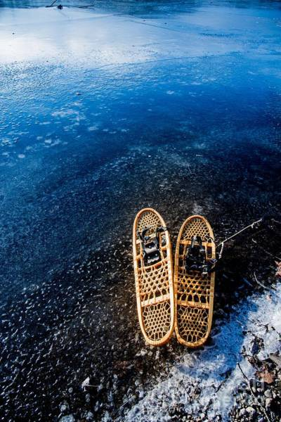 Photograph - Snow Shoes 4 by Jim DeLillo