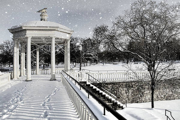 Photograph - Snow Steps by Alice Gipson