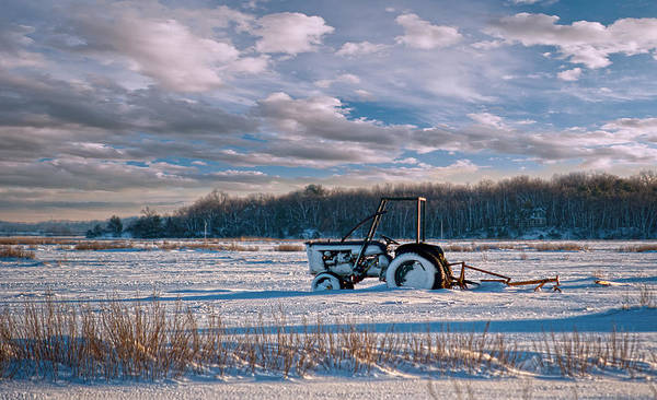 Photograph - Snow Tractor by Rick Mosher