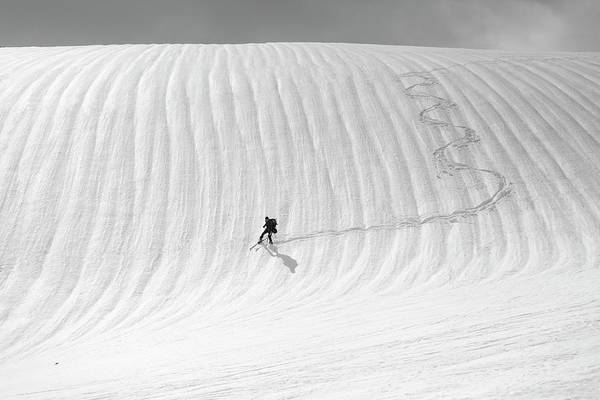 Slovakia Photograph - Snow Wave Surfing by Peter Svoboda, Mqep