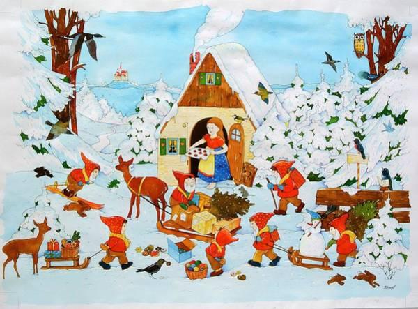 Seven Photograph - Snow White And The Seven Dwarfs by Christian Kaempf
