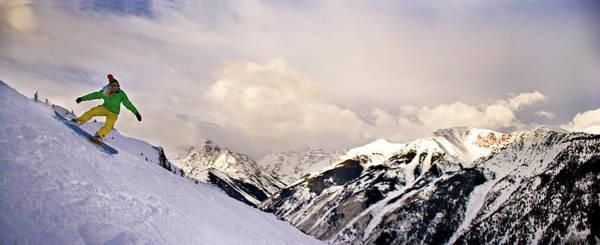 Wall Art - Photograph - Snowboarding Colorado by Glenn Oakley