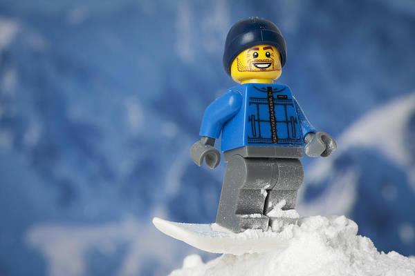 Wall Art - Photograph - Snowboarding by Samuel Whitton