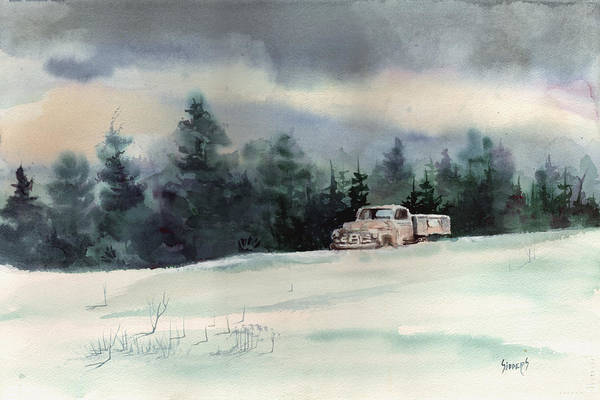 Painting - Snowbound by Sam Sidders