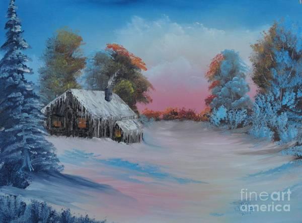 Snowbound.....but Gorgeous Art Print
