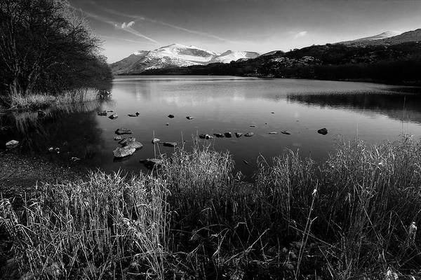 Photograph - Snowdon And Llyn Padarn by Peter OReilly