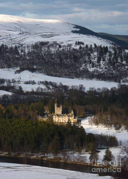 Photograph - Balmoral Castle Snow by Phil Banks