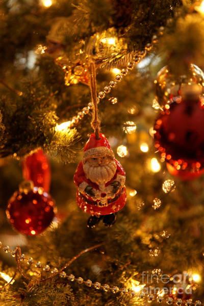 Photograph - Snowflake Santa by Linda Shafer