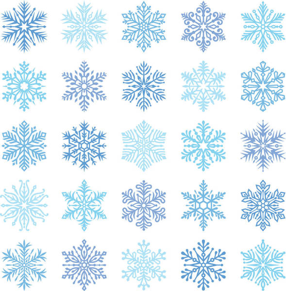 Decoration Digital Art - Snowflakes by Ulimi