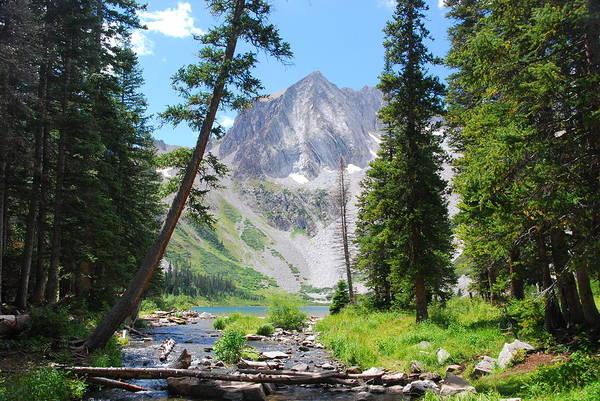 Photograph - Snowmass Peak Landscape by Cascade Colors