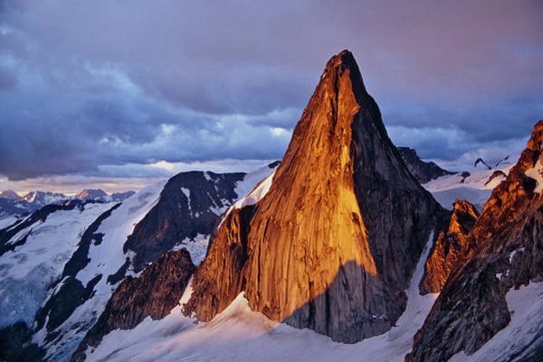 Bugaboo Photograph - Snowpatch Spire, Bugaboos, Canada by Whit Richardson