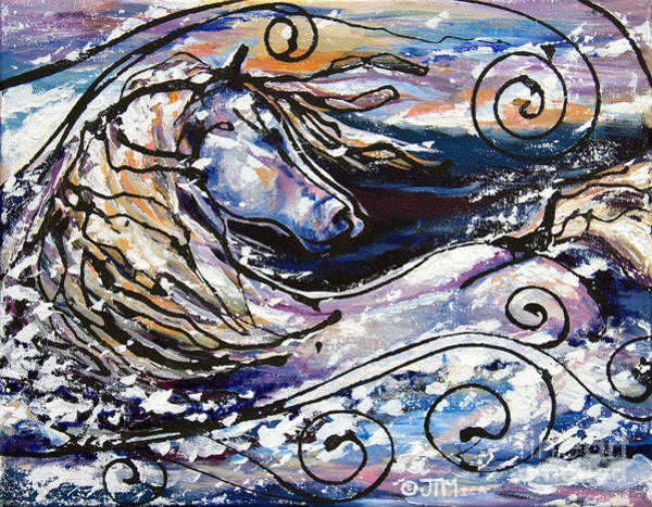Painting - Snowplace Like Home by Jonelle T McCoy