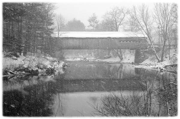 Photograph - Snowy Crossing by Luke Moore