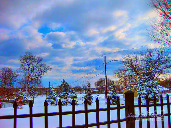 Stamford Photograph - Snowy Day by Judy Palkimas