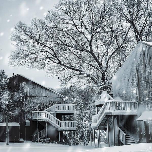 Wall Art - Photograph - Snowy Day by Lourry Legarde