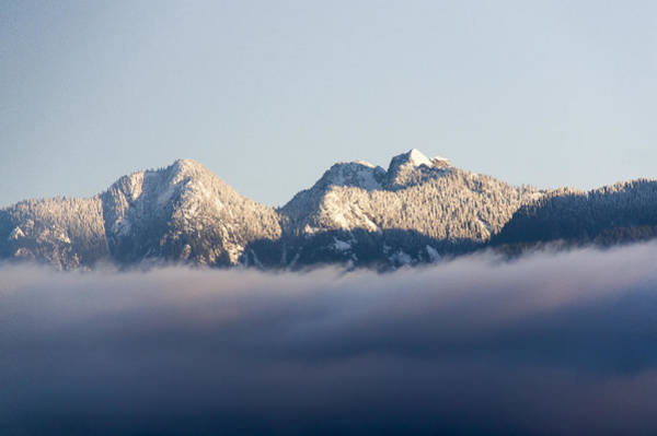 Photograph - Snowy Peaks by Ross G Strachan