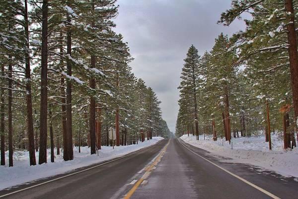 Fantasy Wall Art - Photograph - Snowy Road by Tony Castle