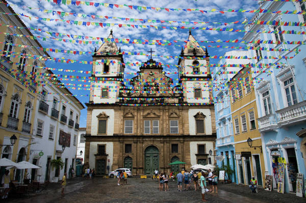Bahia Photograph - São Francisco Church In Salvador by Jan Zoetekouw Photography