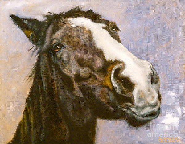 Painting - Hot To Trot by Susan A Becker