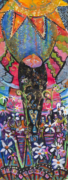d40578935 Painting - So Happy I Could Kiss The Sun by Leela Payne