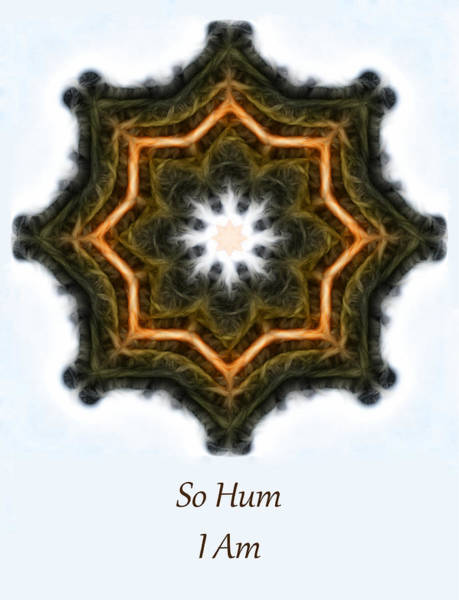 Photograph - So Hum - I Am by Beth Sawickie