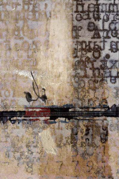 Business Mixed Media - So Linear by Carol Leigh