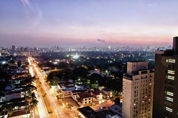 Southeastern Photograph - São Paulo Dusk by Eduleite