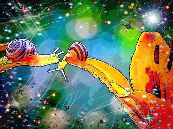 Digital Art - So Whats Up by Karen Buford